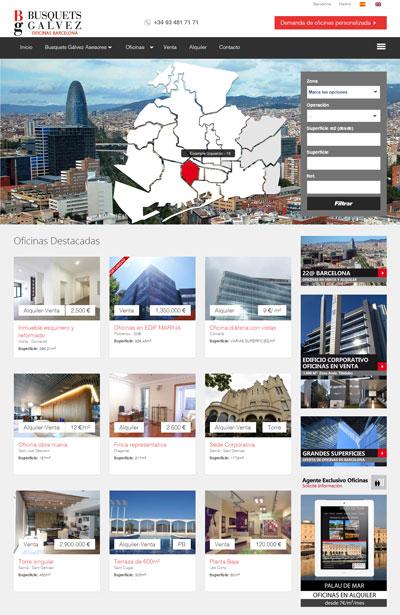 Web Oficinas Barcelona